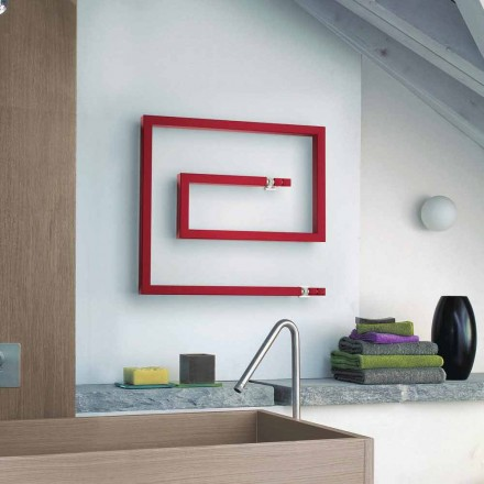 Modern design hot water radiator Snake made in Italy by Scirocco H