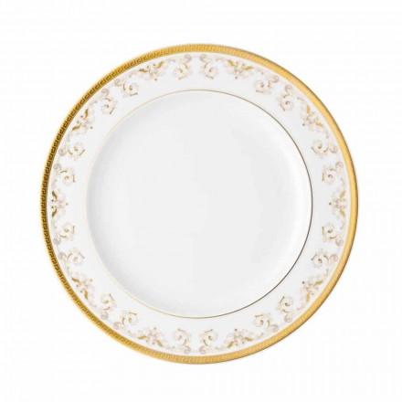 Rosenthal Versace Medusa Gala Gold modern porcelain plate 27 cm