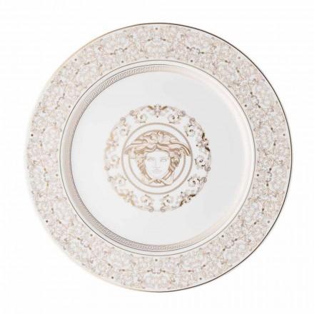 Rosenthal Versace Medusa Gala porcelain modern placeholder plate