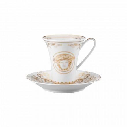 Rosenthal Versace Medusa Gala porcelain tall coffee cup modern design