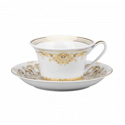 Rosenthal Versace Medusa Gala porcelain tea mug modern design