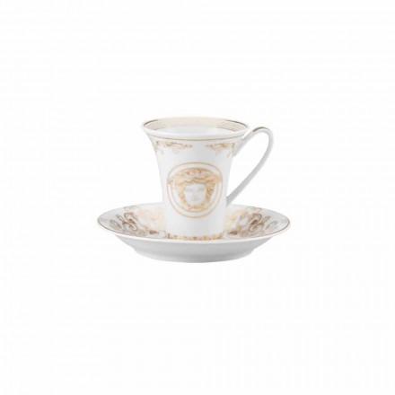 Rosenthal Versace Medusa Gala porcelain coffee cup, modern design