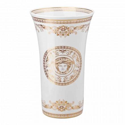 Rosenthal Versace Medusa Gala porcelain vase h 34 cm luxury design