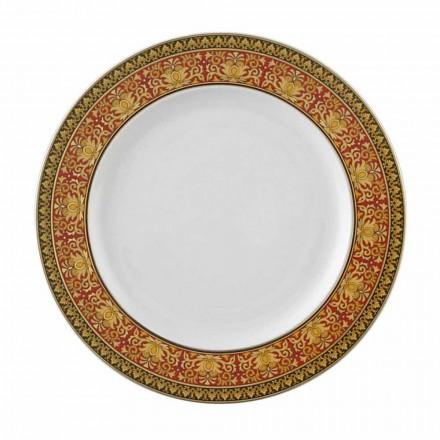 Rosenthal Versace Medusa Rosso porcelain plate, 22 cm
