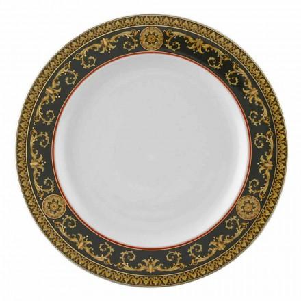 Rosenthal Versace Medusa Rosso porcelain plate, 27 cm