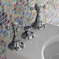 Bidet Taps with Classic Internal Supply in Brass Made in Italy - Elisea