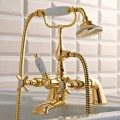 Bordovasca Brass Faucet with Classic Luxury Style Hand Shower - Fioretta