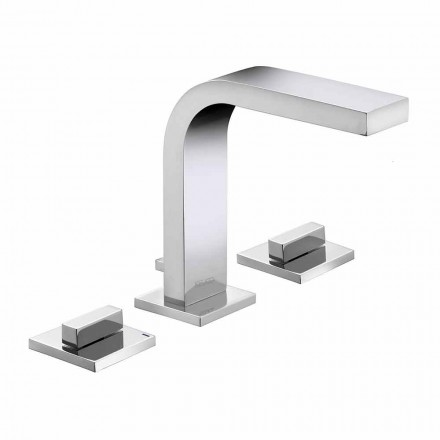 Luxury Design Brass 3-Hole Bathroom Sink Faucet - Etto