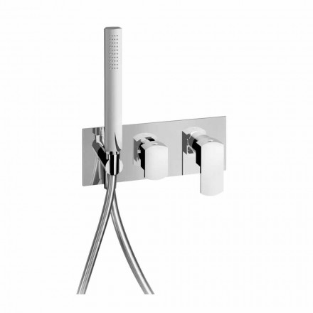 Design Shower Mixer Tap with 3-Way Diverter Made in Italy - Sika