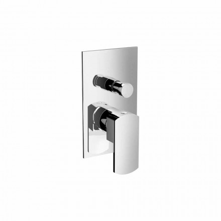 Modern Shower or Bath Mixer Tap with Diverter Made in Italy - Sika