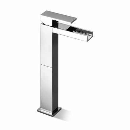 Design Basin Mixer Tap with 13 cm Extension Made in Italy - Bibo