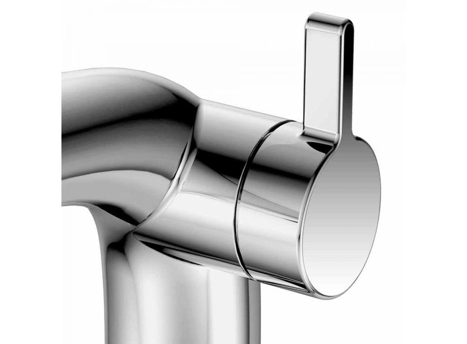 Modern Basin Tap 8 cm Height in Metal Without Drain - Pinto