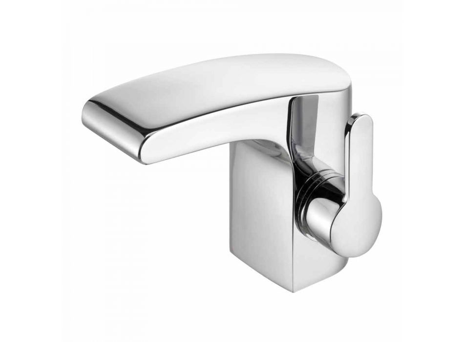 Modern Chrome Metal Bathroom Sink Faucet Without Drain - Gonzo
