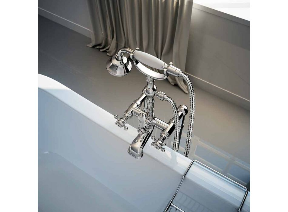 Classic Brass Bathtub Faucet Made in Italy - Riko