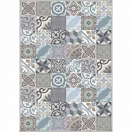Modern Design Table Runner in Pvc and Polyester Pattern - Belita