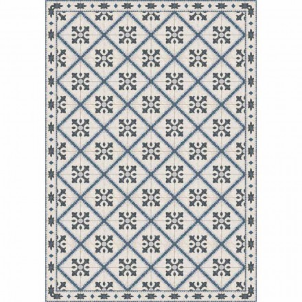 Table Runner in Pvc and Polyester with Modern Pattern - Berimo