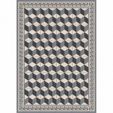 Patterned Table Runner in Pvc and Modern Polyester - Romio