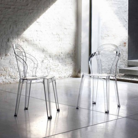 Scab Design Titi set of 4 polycarbonate chairs, indoor/outdoor use