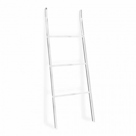 Towel Holder Ladder in Transparent Plexiglass Design 2 Heights - Dryers