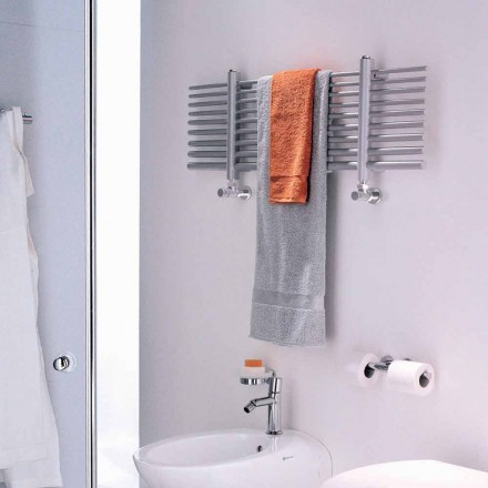 Horizontal electric towel warmer Selene made in Italy by Scirocco H