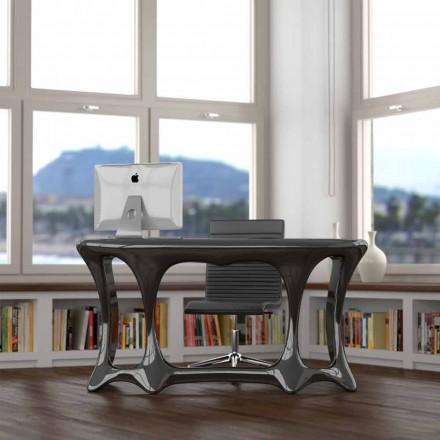 Modern design office desk Batllò, made in Italy