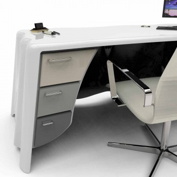 Modern design office desk by Fabric, Made in Italy