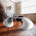 Modern design office desk made in Italy, Telese