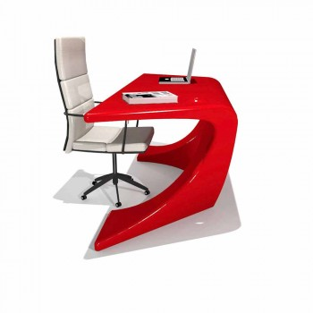 Modern office desk produced in Italy, Cerami