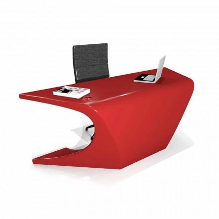 Modern office desk made in Italy, Cerami