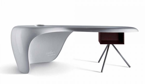 Scrivania Paint Your Life.Office Desk Della Rovere Uno Designed By Karim Rashid