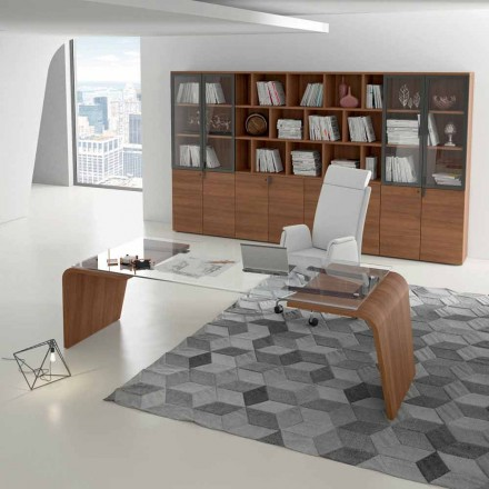 Office desk Della Rovere Larus, designed by Andrea Stramigioli