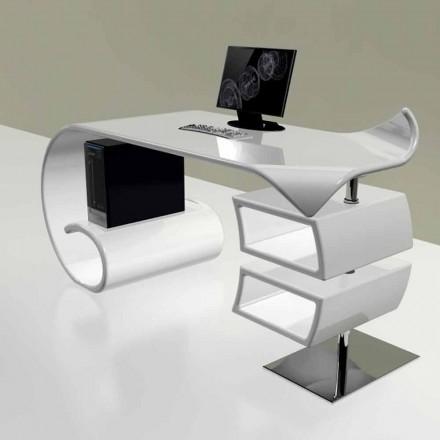 Modern office desk made in Italy, Miagliano