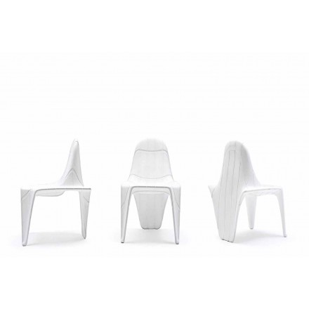 Modern outdoor chair F3 by Vondom, made with polyethylene