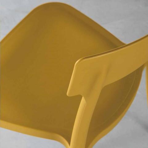Peia made in Italy polypropylene outdoor / indoor design chair