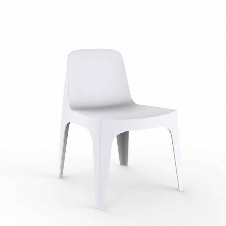 Garden armchair Solid by Vondom, polypropylene with mineral additives