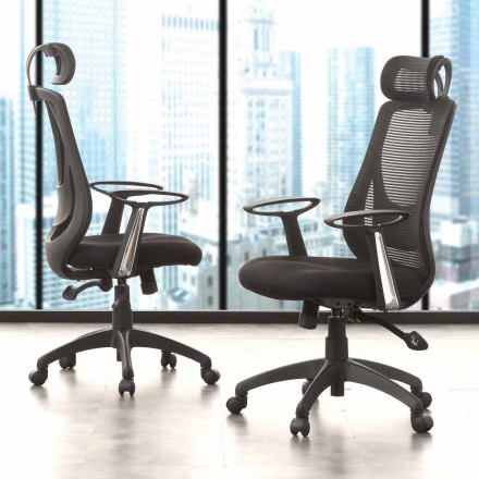 Directional and Operational Office Black Chair – Gerlanda