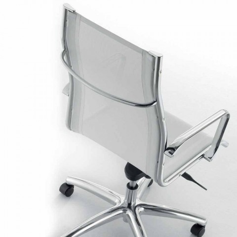 Design executive chair produced in Italy in Agata network