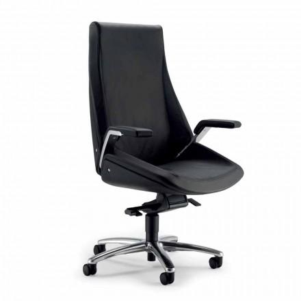 Directional swivel chair Ada, designed by  Angelo Pinaffo & Gorgi