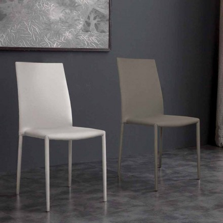Desio modern design eco-leather chair, for kitchen or dining room