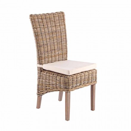 Garden Chair with Design Cushion for Outdoor - Taffi