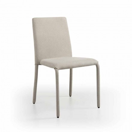 Design living chair made of leather, produced in Italy, Gazzola
