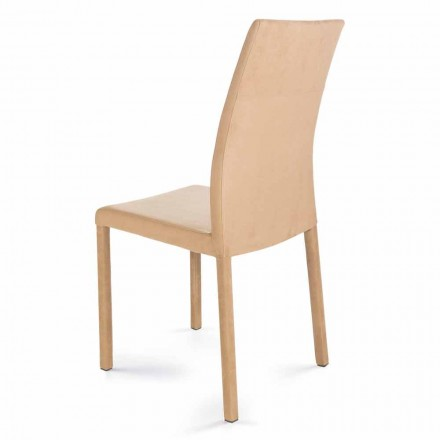 Modern design chair, made in Italy, Jamila, for dining room