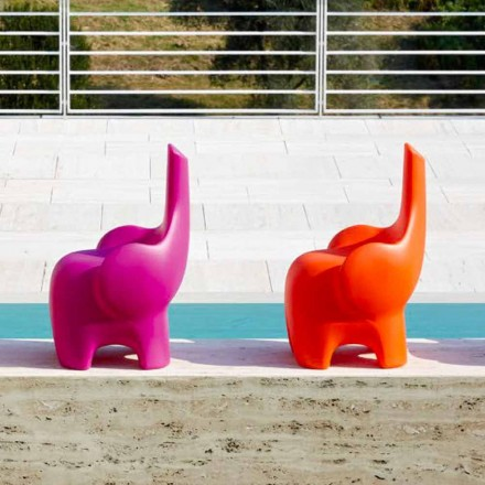 Modern Design Elephant Chair for Children, 4 Colored Pieces - Tino by Myyour