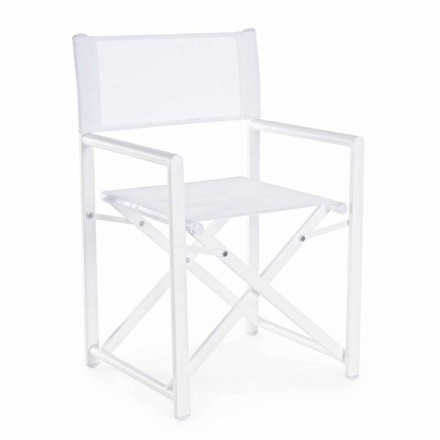 Modern Design Garden Director Chair in Aluminum for Outdoor - Cameo