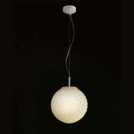 Selene Domino handmade pendant light Ø27 H 27/140cm, modern design