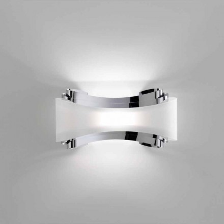 Selene Ionica wall lamp, made in Italy, 32x10xH16 cm, modern design