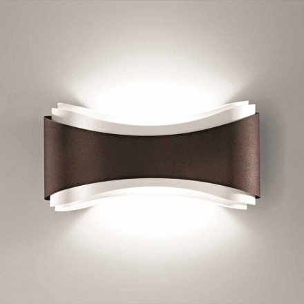 Selene Ionica wall lamp, made in Italy, 40x12H20cm, modern design