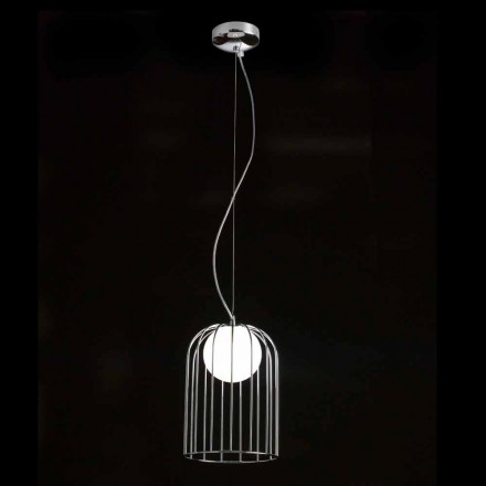 Selene Kluvi pendant lamp made of blown glass, Ø19 H 27/150cm