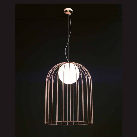 Selene Kluvi pendant lamp made of blown glass, Ø54 H 70/200cm