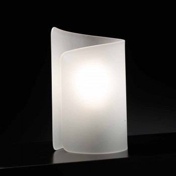 Selene Papiro crystal table lamp made in Italy 15x14xH25cm